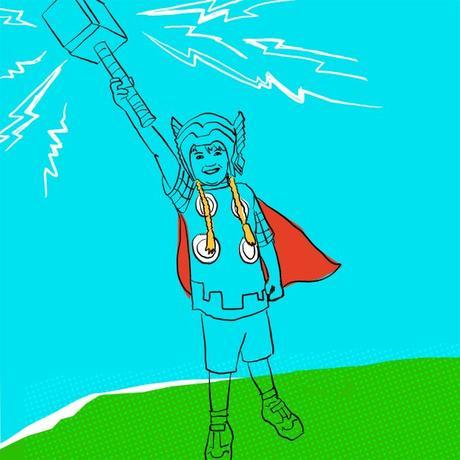 warrior kid thor ragnarok