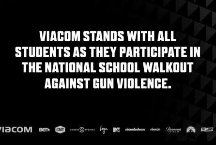 Viacom Channels Went Dark For 17 Minutes In Solidarity With Students