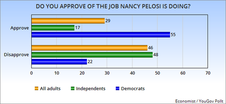 Is Nancy Pelosi Really A Problem For Democrats ?