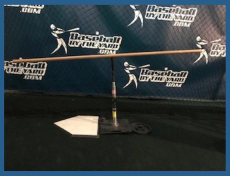 Tilting the tee for better hitting drills