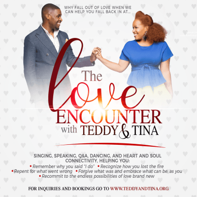 Tina Campbell & Husband Teddy Campbell Launch New Website