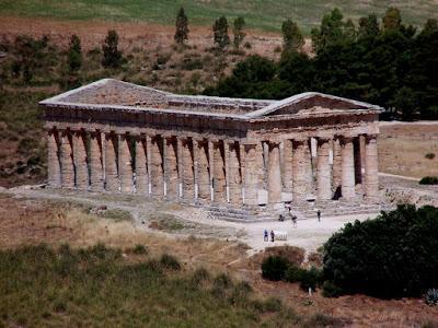Sicily 4: Segesta   [Sky Watch Friday]