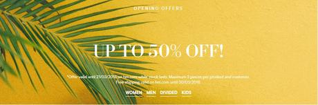 H&M India Online Store Discounts and Offers