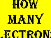Chemistry Finding Number Electrons Particles