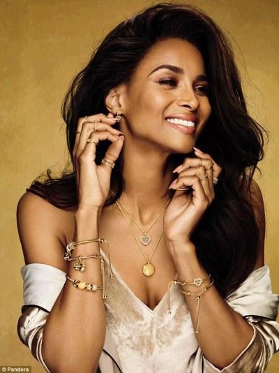 Ciara Is The New Brand Ambassador For Pandora