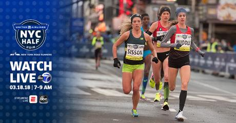 Watch the #UnitedNYCHalf This Sunday
