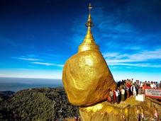 Explore Golden Rock Pagoda