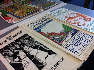 London Tramways – posters and artworks at the London Metropolitan Archives