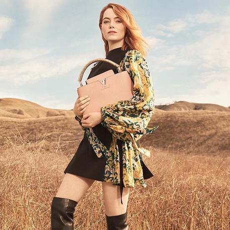 Emma Stone Stars In Louis Vuitton's Latest Campaign