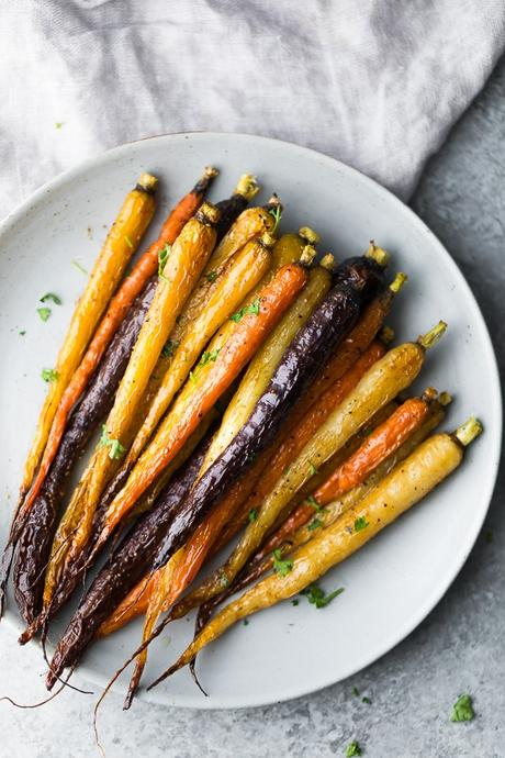 Make Ahead Honey Roasted Carrots