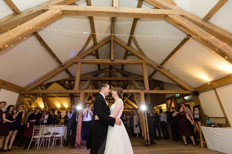 Sandburn Hall Wedding Photography First dance