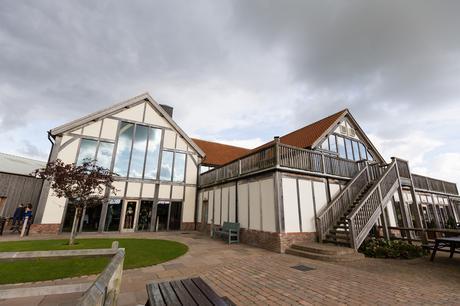 Sandburn Hall exterior photograph
