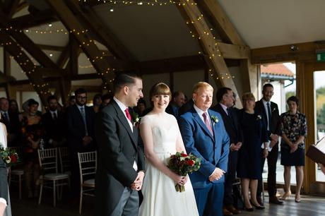 Sandburn Hall Wedding Photography ceremony
