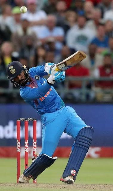 Dinesh Karthik changes fortune with a great cameo and last ball sixer