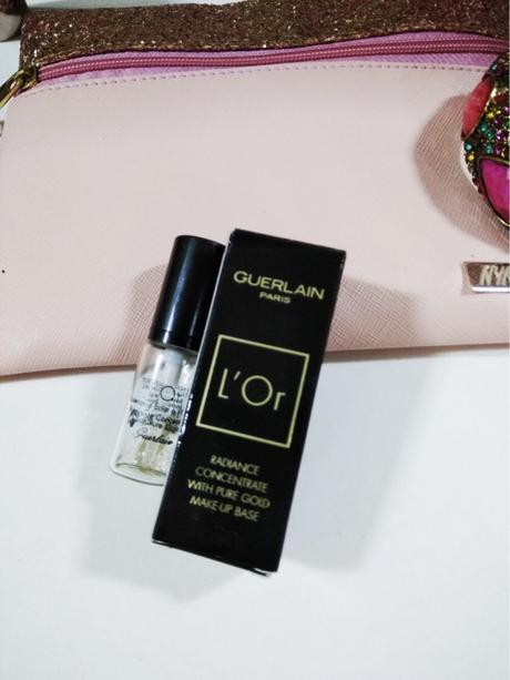 Guerlain L'Or Radiance Primer Review- Concentrate with Pure Gold