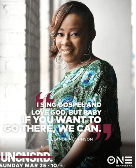 LeAndria Johnson: Child Out Of Wedlock & The Church On TV One's  Uncensored