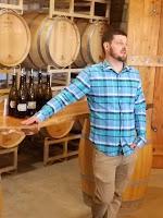 Barrel Tasting at Maryland's Catoctin Breeze Vineyard