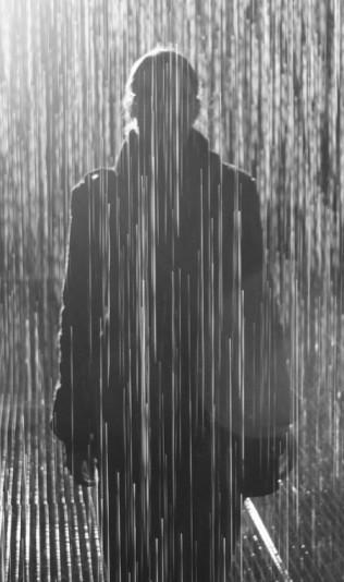 standing in the rain paperblog