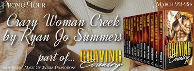 Promo Tour: Crazy Woman Creek by Ryan Jo Summers