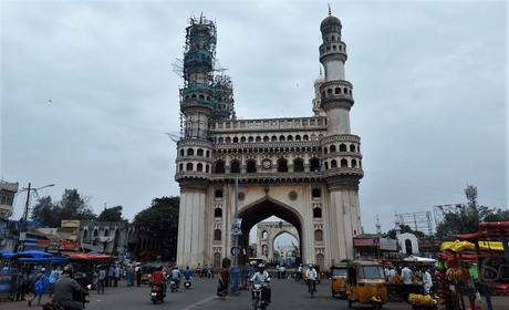 The iconic Charminar of Hyderabad