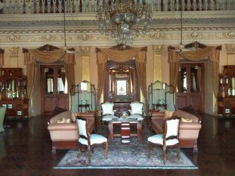 Artefacts on display at the Chowmahalla Palace in Hyderabad