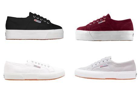 Superga, flatform, classic, 2750, 2790, suede, bordeaux, white, black, grey, minimal, sneakers, 2018, SS18
