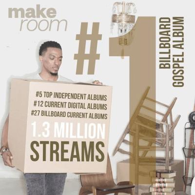 Jonathan McReynolds 'Make Room' #1 Billboard Gospel Album