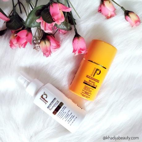 Perenne Broad spectrum SPF 50 & Revitalizing face mist review- Summer essentials