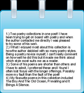 Mini Pin-It Reviews #19 – Four Author Requests
