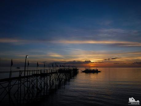 Sunset at Matalom, Leyte