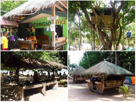 Facilities in Canigao Island