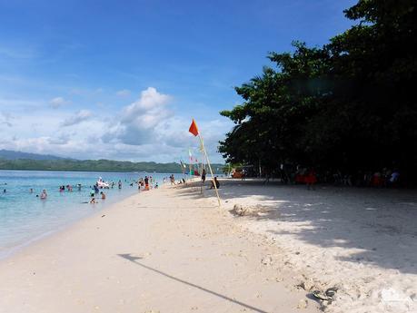 Beach in Canigao Island