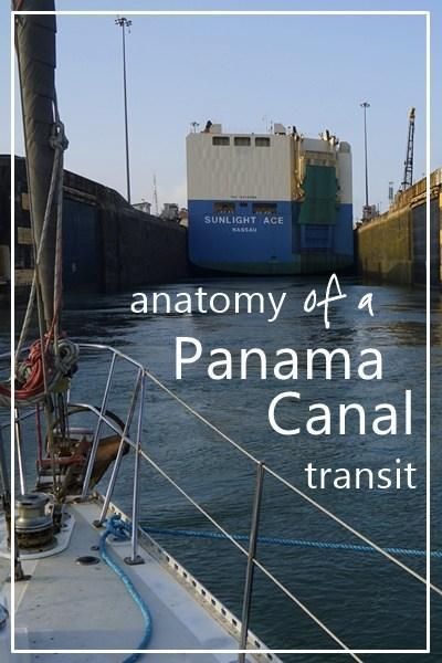 Anatomy of a Panama Canal transit