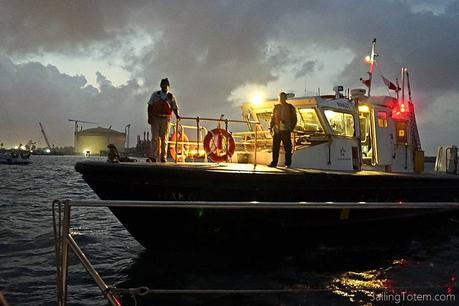 ACP boat delivers advisor at dawn
