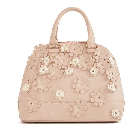 satchel, floral bag, handbag, spring handbag, pocketbook