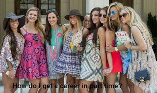 How do I get a career in part time MBA?