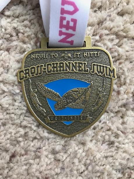 I Came, I Swam, I Almost Threw Up - Nevis to St. Kitts Channel Swim Race Report (2018)