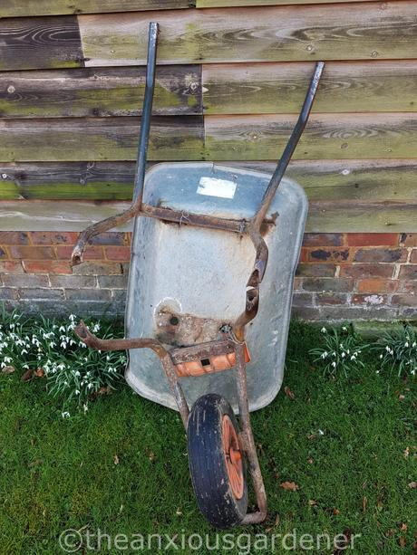 My Old Wheelbarrow