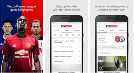top sports streaming apps for android