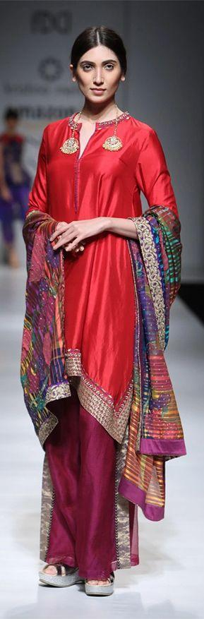 Runway Fashion: Designers adding a twist to the Traditional Salwars