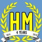 Harvey Mercheum Four Year Anniversary logo image