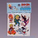 Richie Rich Three Dimensional Stickers, short blue Cadbury variant front view