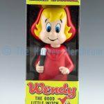 Wendy bobblehead front view in box.