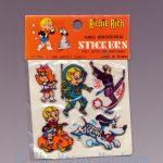 Richie Rich Three Dimensional Stickers, short red Cadbury variant front view