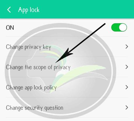 Change the scope of privacy