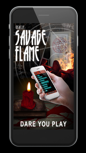 URBAN FANTASY FROM D.B. GREEN + INTERACTIVE ADVENTURE APP, ORACLE: THE SAVAGE FLAME