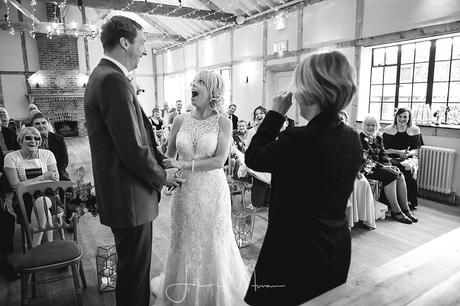 Burley Manor Wedding Ceremony