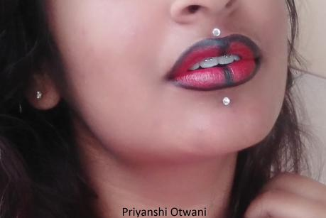 3 Easy Lip Art Ideas Step By Step Lip Art Design Tutorial Paperblog