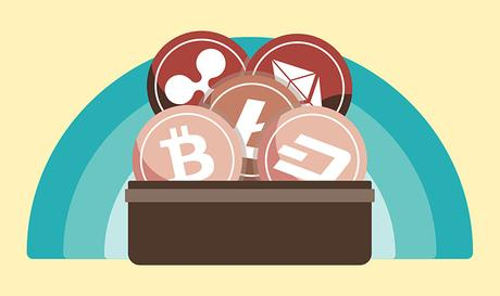 different types of digital cryptocurrency wallets