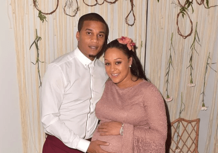Pics: Tia Mowry Had A Bohemian Themed Baby Shower Easter Weekend